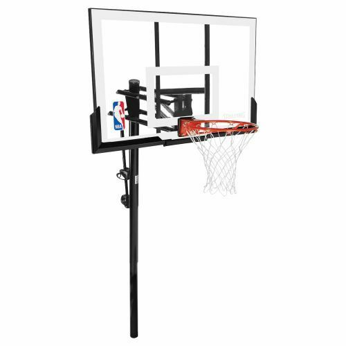 Spalding 54 Inground Basketball System Hoop Acrylic Backboard Adjustable Goal Ebay