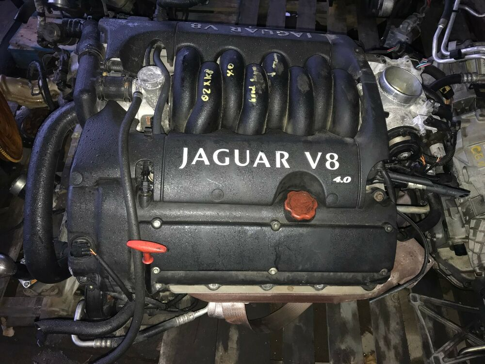 jaguar xk8 v8 4 0l engine 2000 2001 2002 ebay. Black Bedroom Furniture Sets. Home Design Ideas