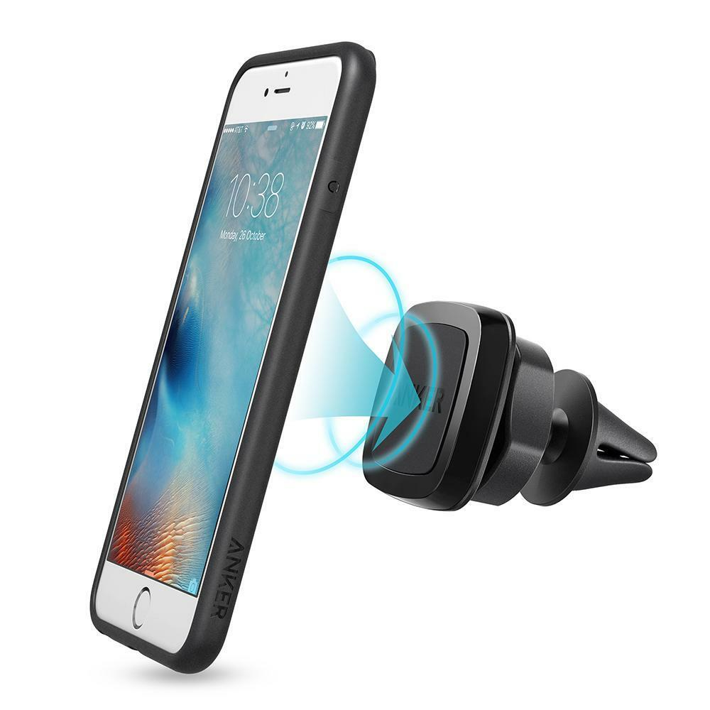 Universal smartphones car air vent mount holder