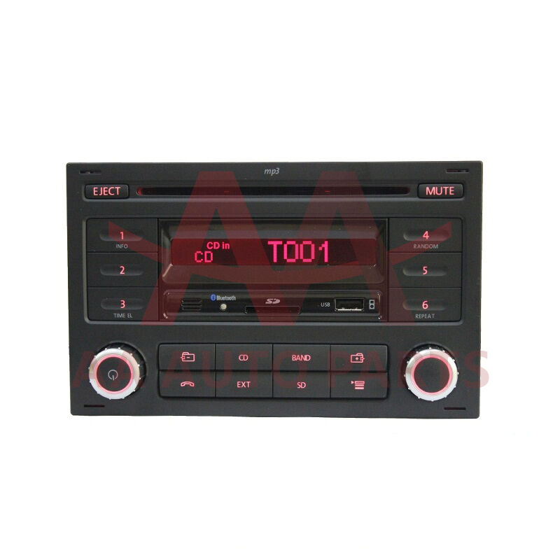 vw volkswagen mk4 radio with volk l bluetooth golf jetta. Black Bedroom Furniture Sets. Home Design Ideas