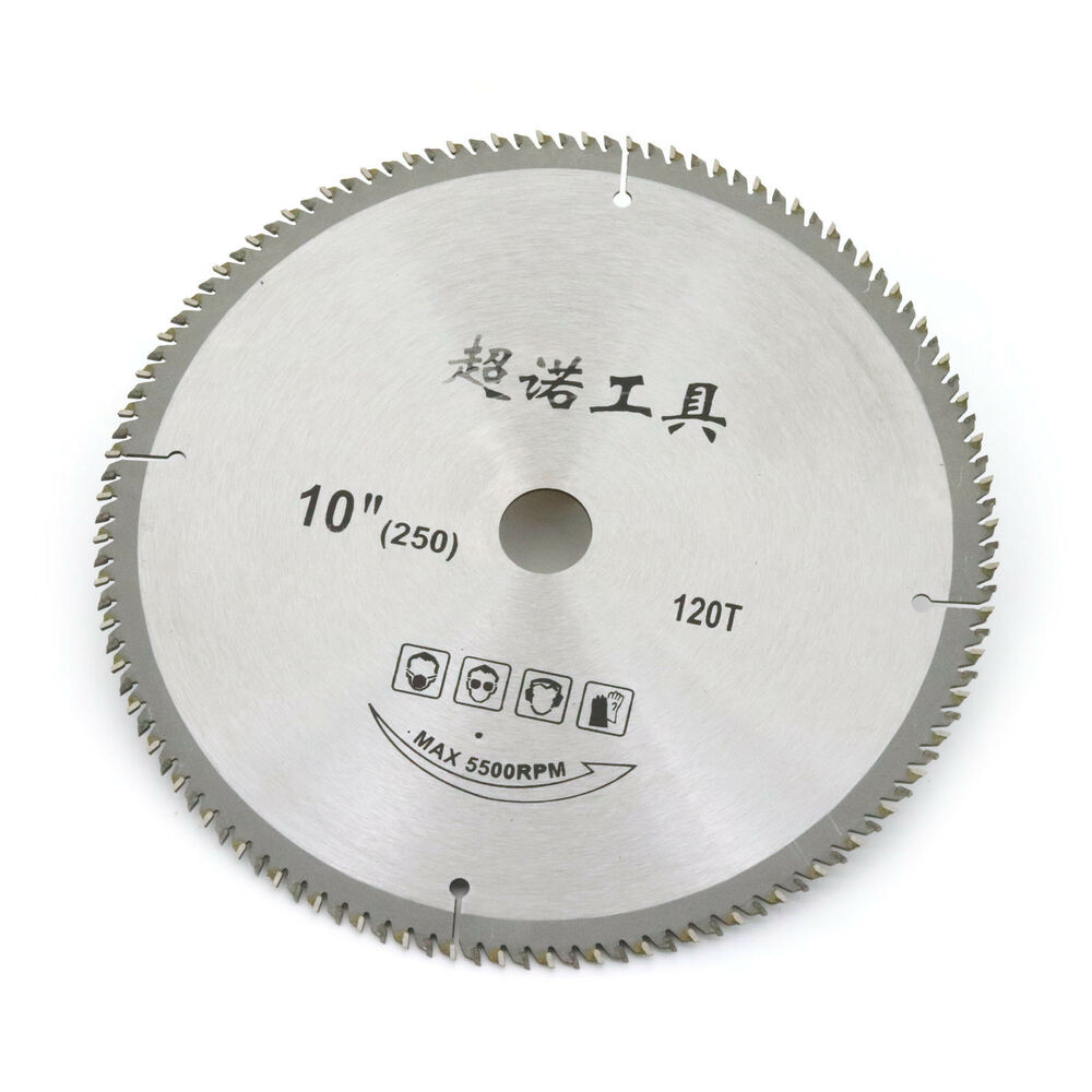 10 Inch X 120 Teeth Table Saw Blades For Wood Carbide Tipped Ebay