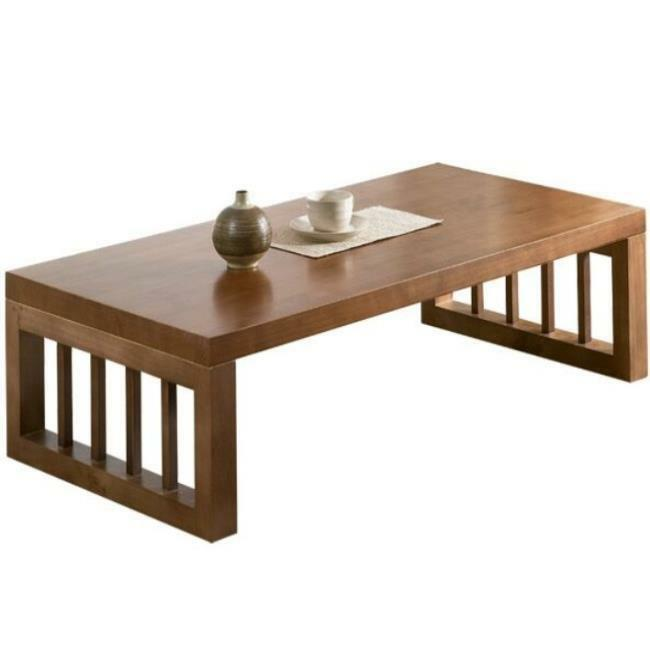Low Table Wooden Laptop Desk Tea Coffee Japanese Style