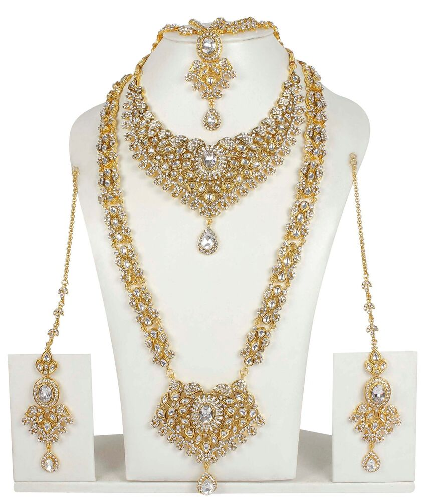 374 Indian Bollywood Style Fashion Gold Plated Bridal