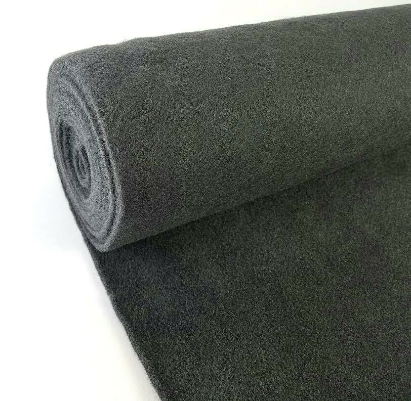 5 yards dark gray upholstery un backed automotive trim carpet 40 x15 ft roll us ebay. Black Bedroom Furniture Sets. Home Design Ideas