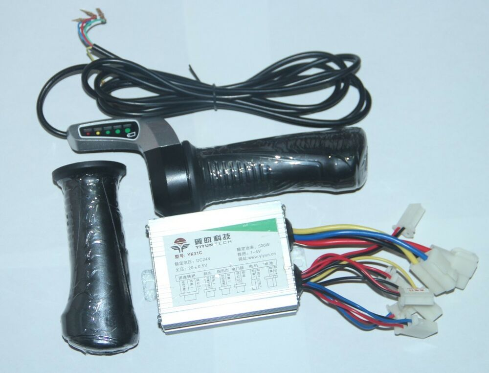 Electric scooter 24v 500w motor brushed speed controller for 24 volt dc motor speed controller