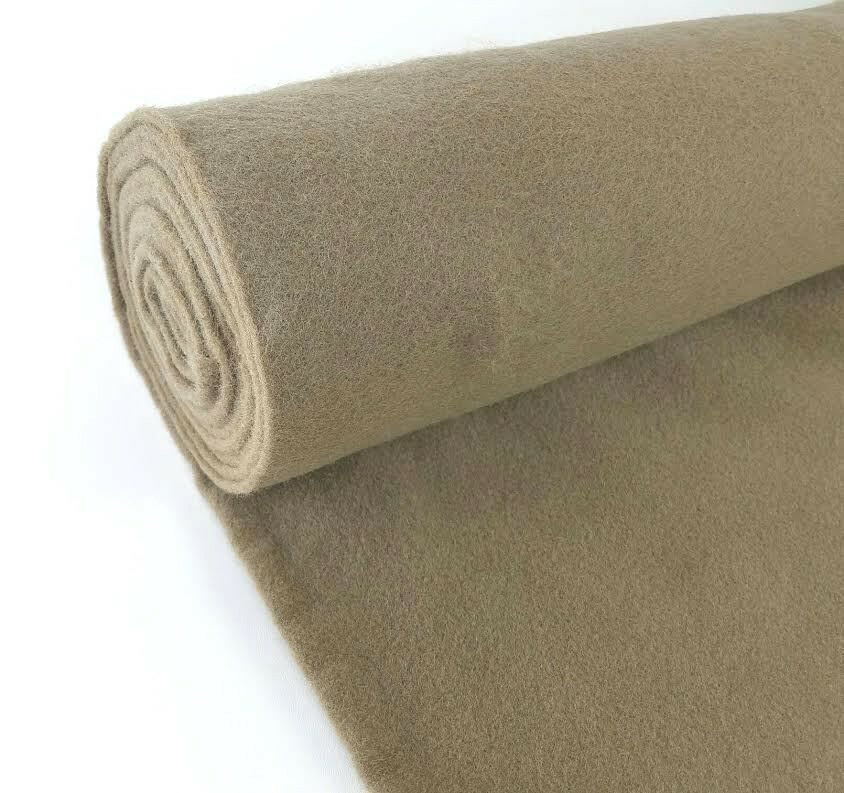 5 Yards Light Brown Upholstery Un Backed Automotive Trim