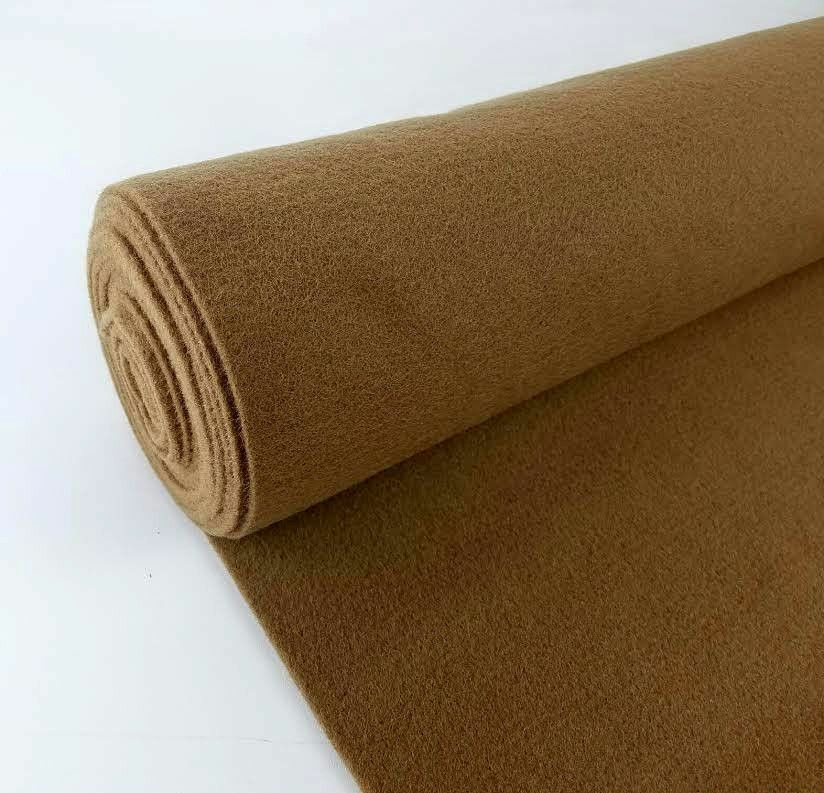 5 Yards Brown Upholstery Durable Un Backed Automotive Trim