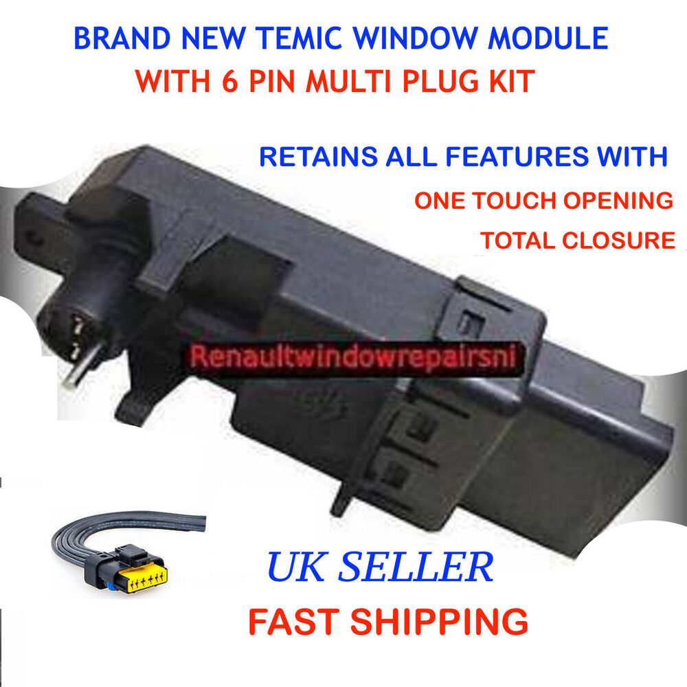 New Temic Renault Megane Scenic Window Regulator Motor