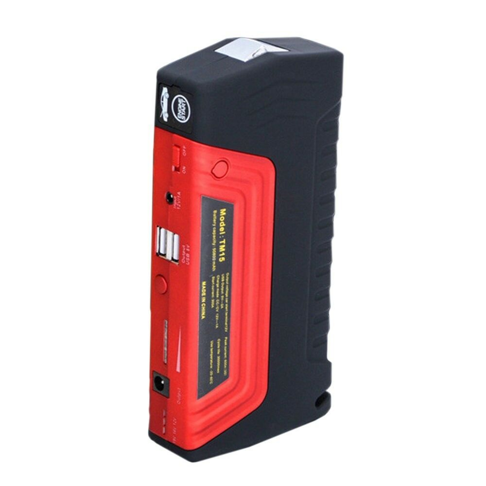 12v 16800mah portable car jump starter pack booster. Black Bedroom Furniture Sets. Home Design Ideas