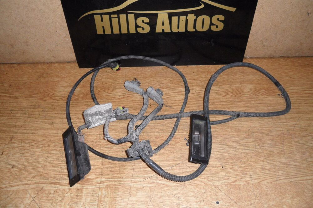 alfa romeo gt 04> rear bumper number plate lights and wiring alfa romeo gt 04> rear bumper number plate lights and wiring harness loom