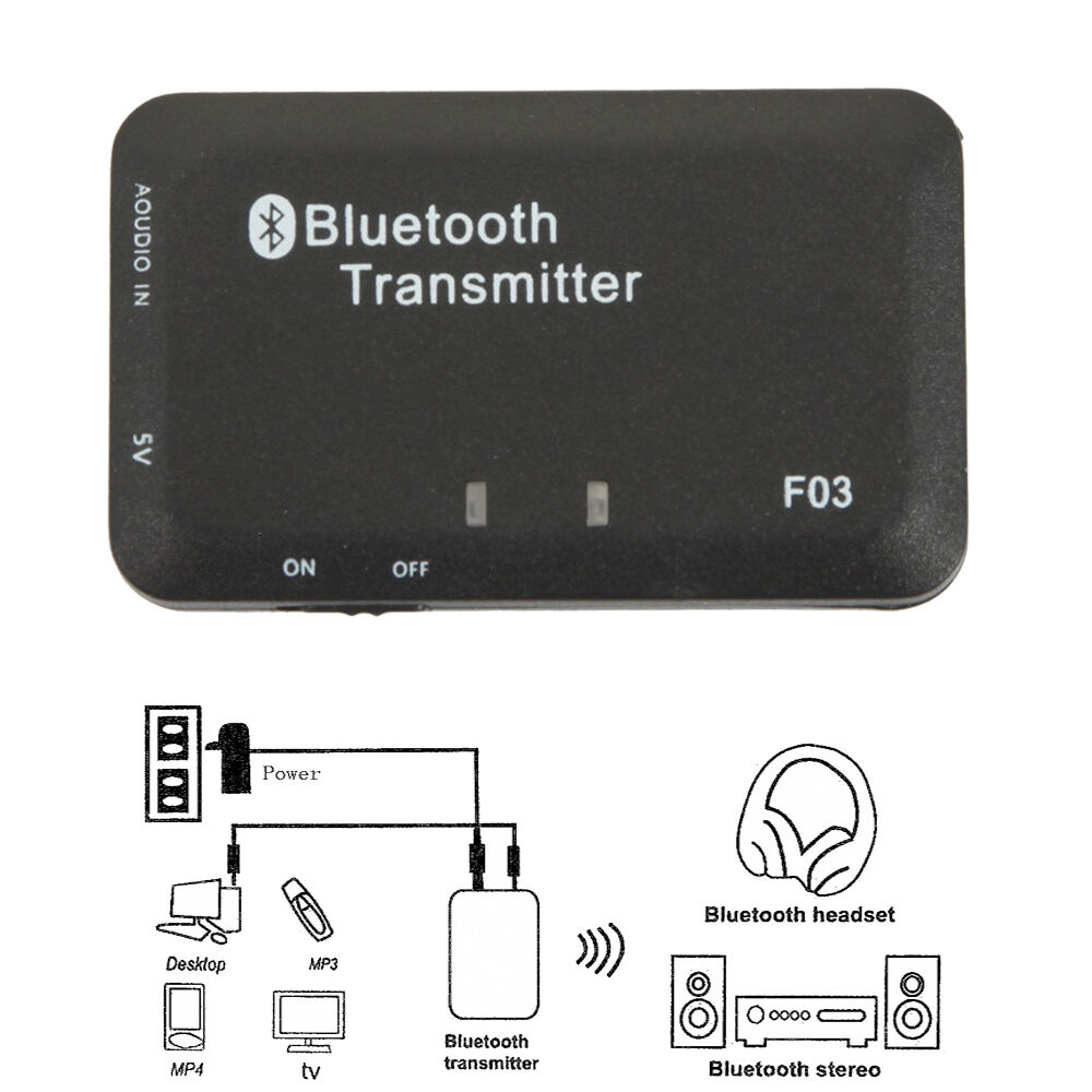 3.5mm Audio Bluetooth Transmitter A2DP Stereo Dongle