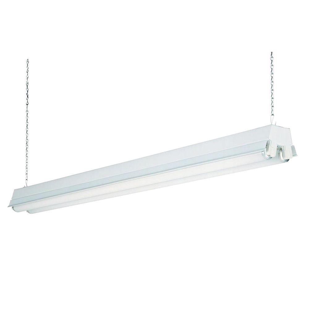 Lithonia Lighting 2-Light White T12 Fluorescent Shop