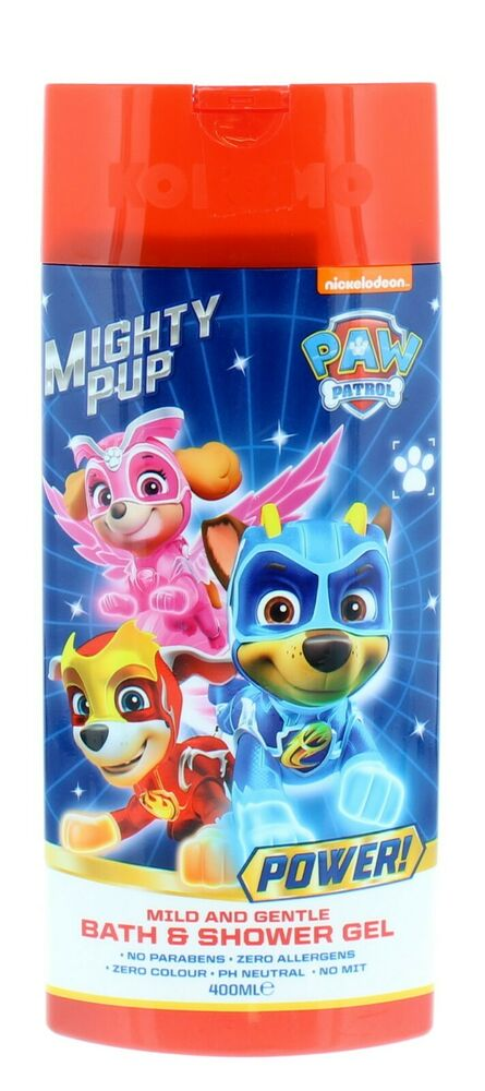 ** KIDS NICKELODEON PAW PATROL BATH & SHOWER GEL NEW