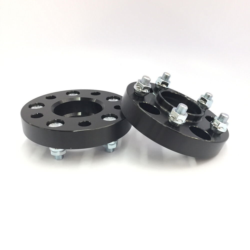 20mm 3 4 Quot Hubcentric Wheel Spacers Black 5x114 3