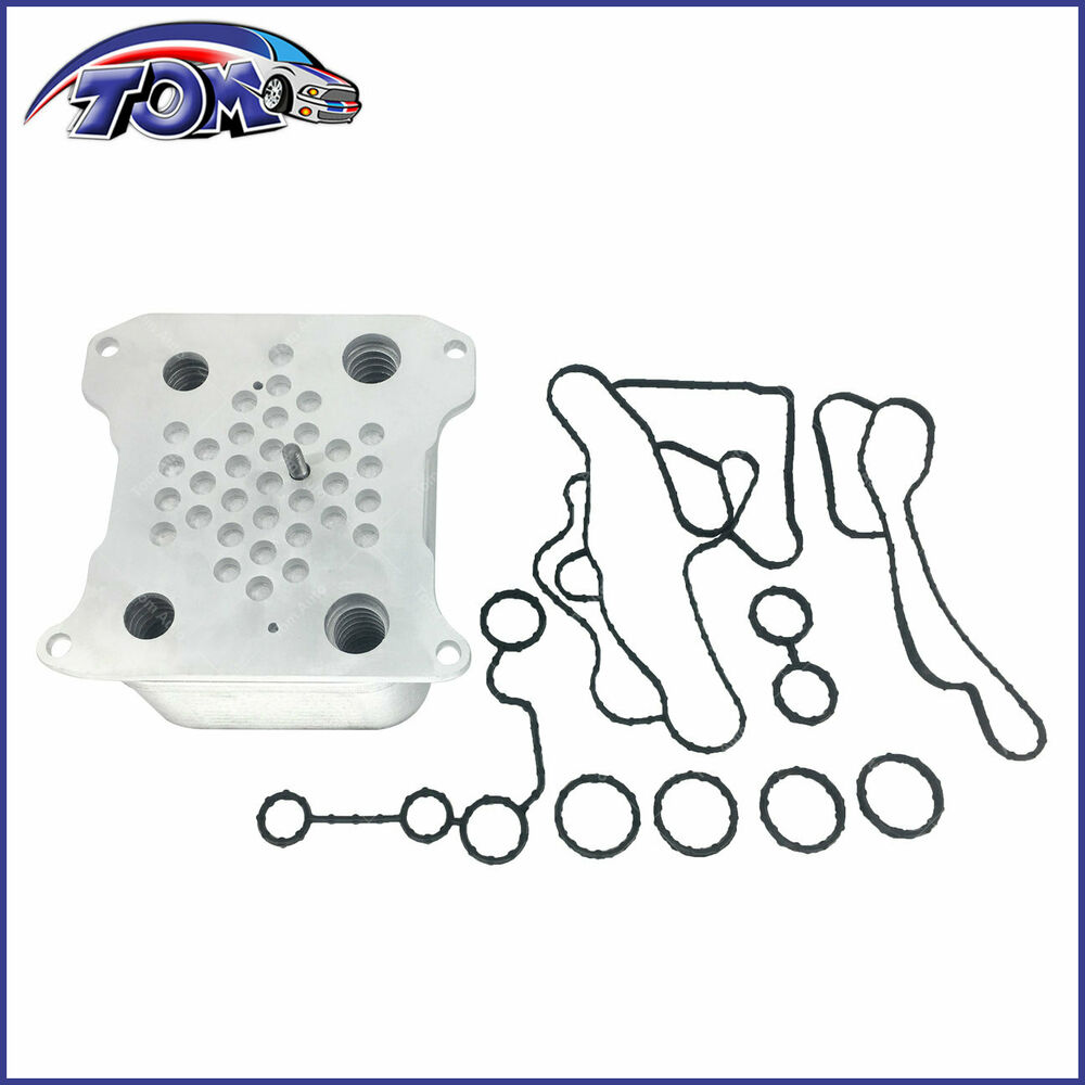 New Oil Cooler With Gasket For 08 10 Ford F250 F350 F450 6