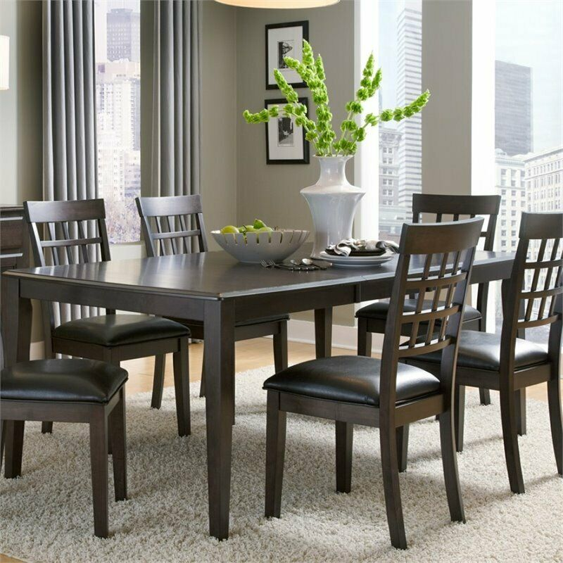 A America Bristol Point Extendable Dining Table in Warm  : s l1000 from www.ebay.com size 800 x 800 jpeg 112kB