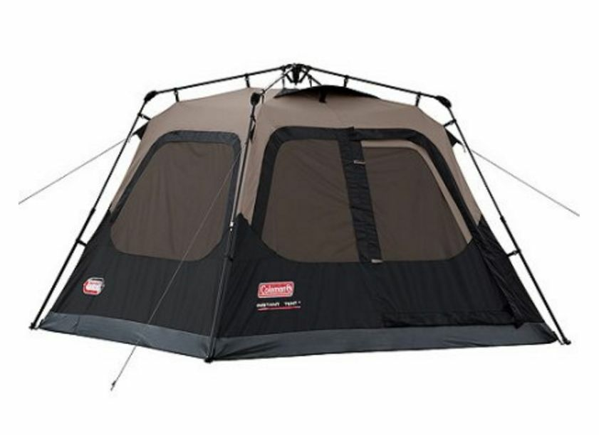 8 Person Instant Cabin Tent : Coleman instant tent person outdoor family