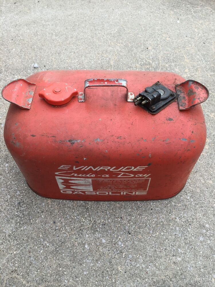 vintage evinrude cruise a day 6 gallon outboard boat motor