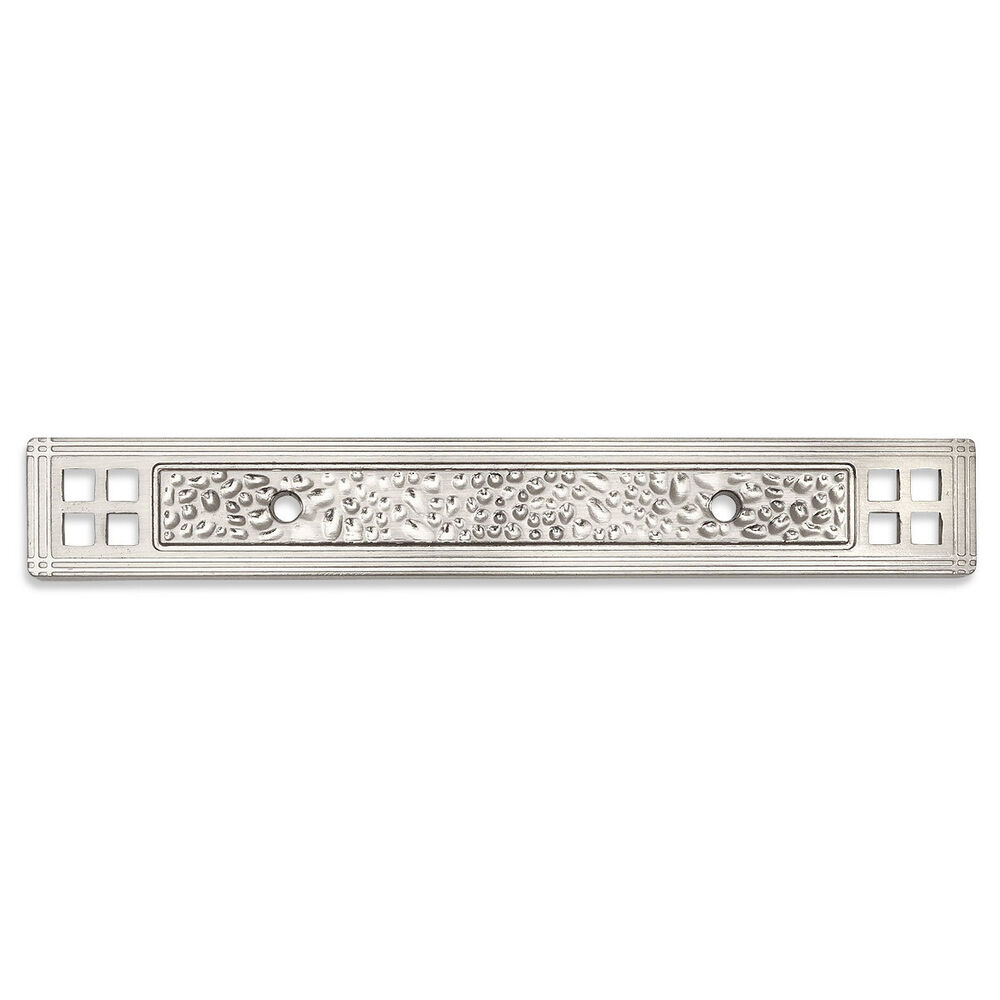 cabinet pull backplate cosmas satin nickel cabinet hardware pull backplates 13006