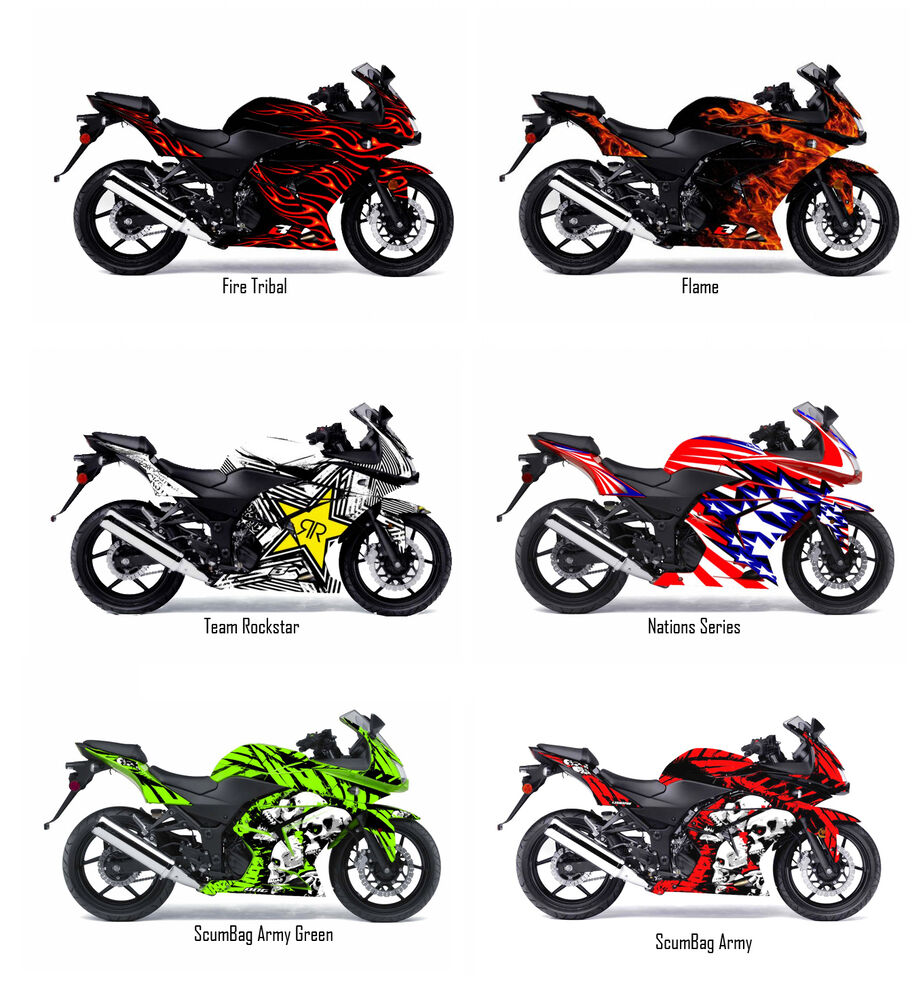 Kawasaki Ninja Sticker Kit