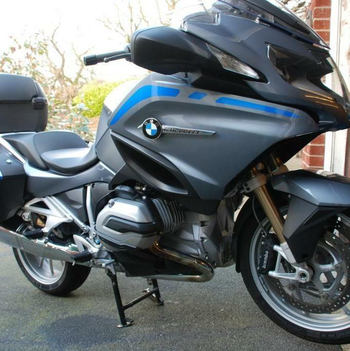 REFLECTIVE FAIRING STRIPES TO FIT BMW R1200RT LIQUID