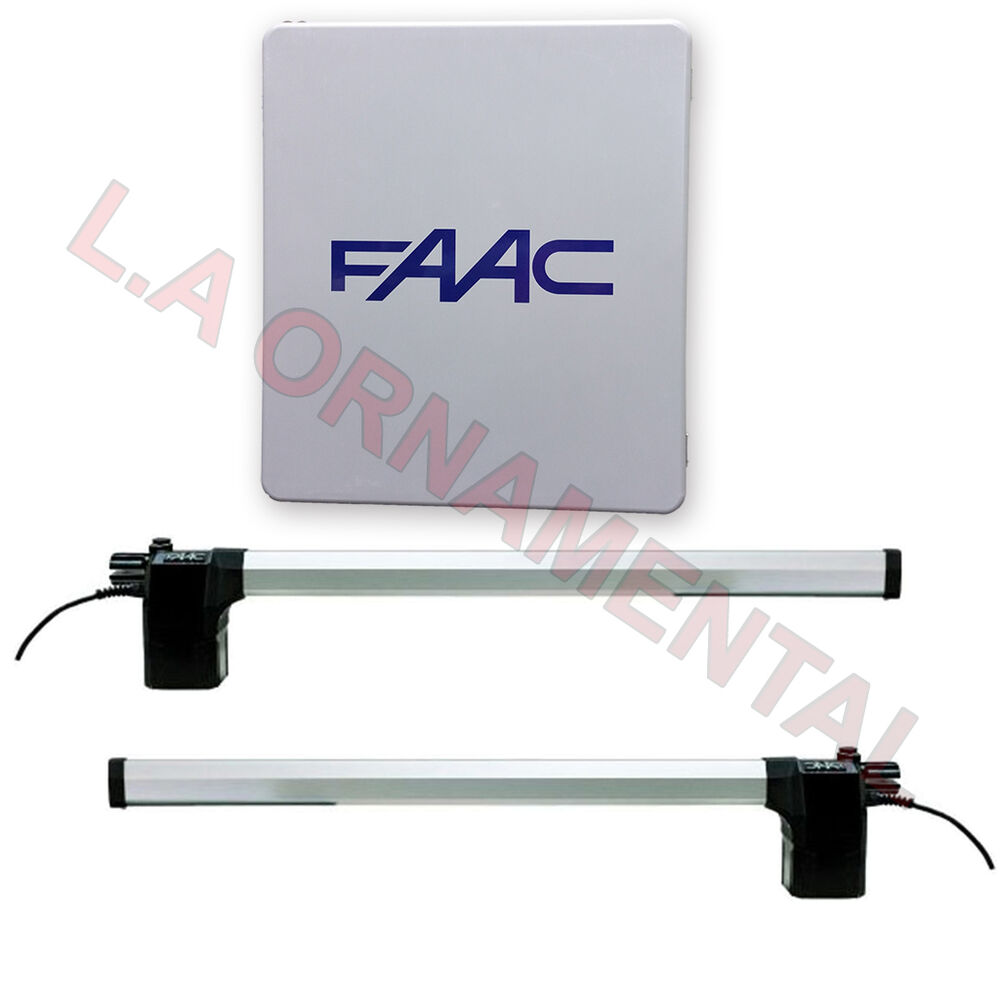 Faac dual swing automatic gate operator residential