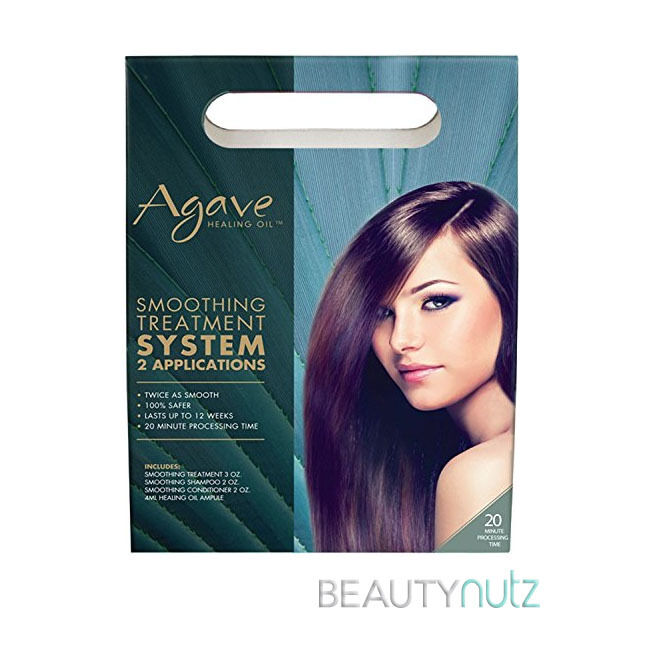 Agave Smoothing Treatment System Pack 2 Applications