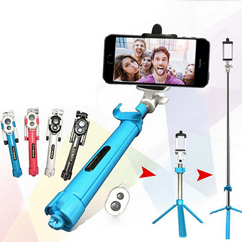 extend handheld selfie stick tripod bluetooth remote shutter for iphone precious ebay. Black Bedroom Furniture Sets. Home Design Ideas