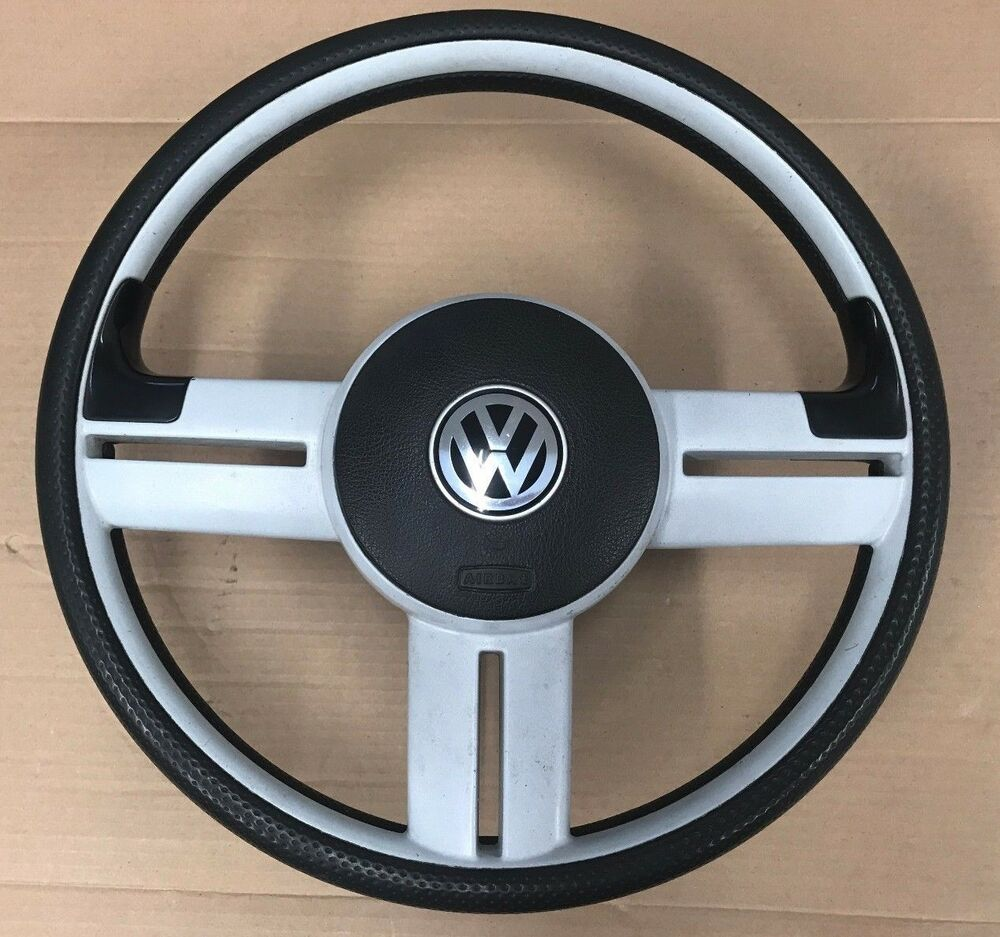 vw lupo 3l 3 spoke steering wheel with airbag golf mk1 mk2. Black Bedroom Furniture Sets. Home Design Ideas