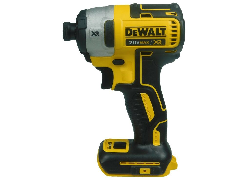 New dewalt dcf887b 20v lithium ion 3 speed brushless 1 4 for Dewalt 20v brushless motor