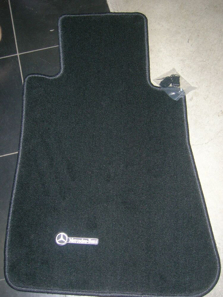 Mercedes 107 450sl oem grey floor mats genuine set of for Mercedes benz sl550 floor mats