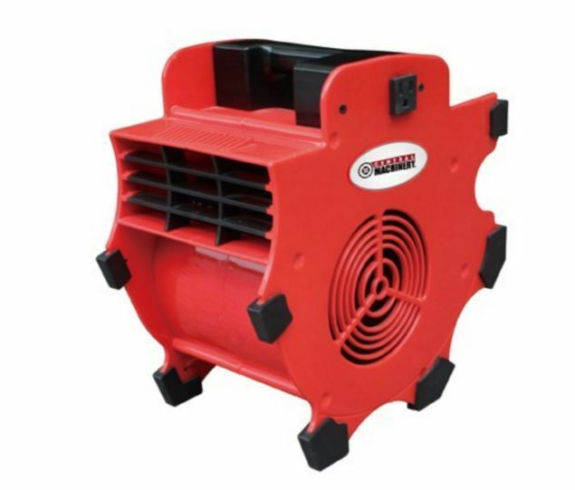 3 speed portable blower shop fan auto shop velocity compact vent odor fumes dust ebay. Black Bedroom Furniture Sets. Home Design Ideas