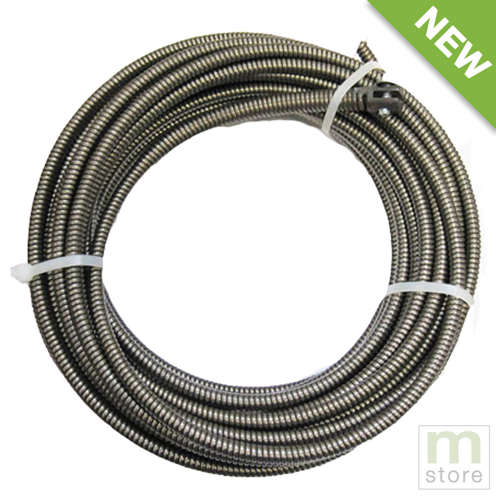 100 Ft Drain Auger Cable Replacement 3 8 Quot Music Wire Snake