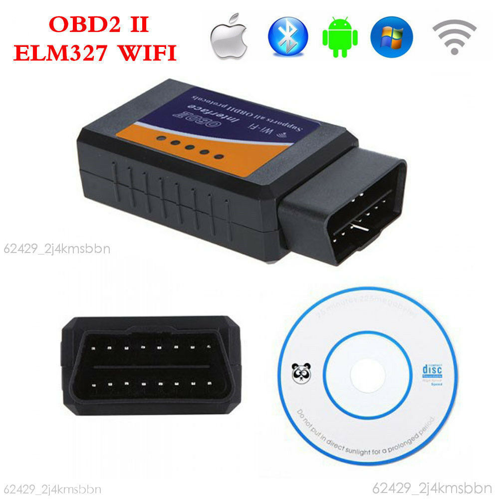 elm327 wifi obd2 obdii auto car diagnostic scanner scan tool for iphone android ebay. Black Bedroom Furniture Sets. Home Design Ideas