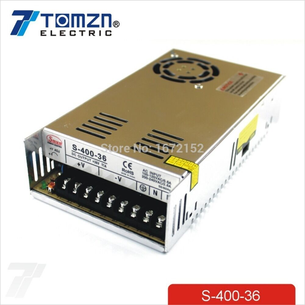 400w 36v 11a Single Output Switching Power Supply Ebay Built In Emi Filter With Overload Short Circuit