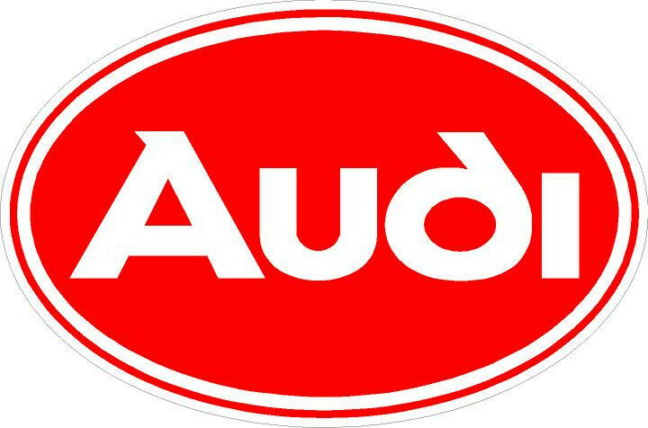 Truck Stickers For Back Window >> #547 Vintage Audi Oval Logo Decal Sticker Laptop Laminated quattro | eBay