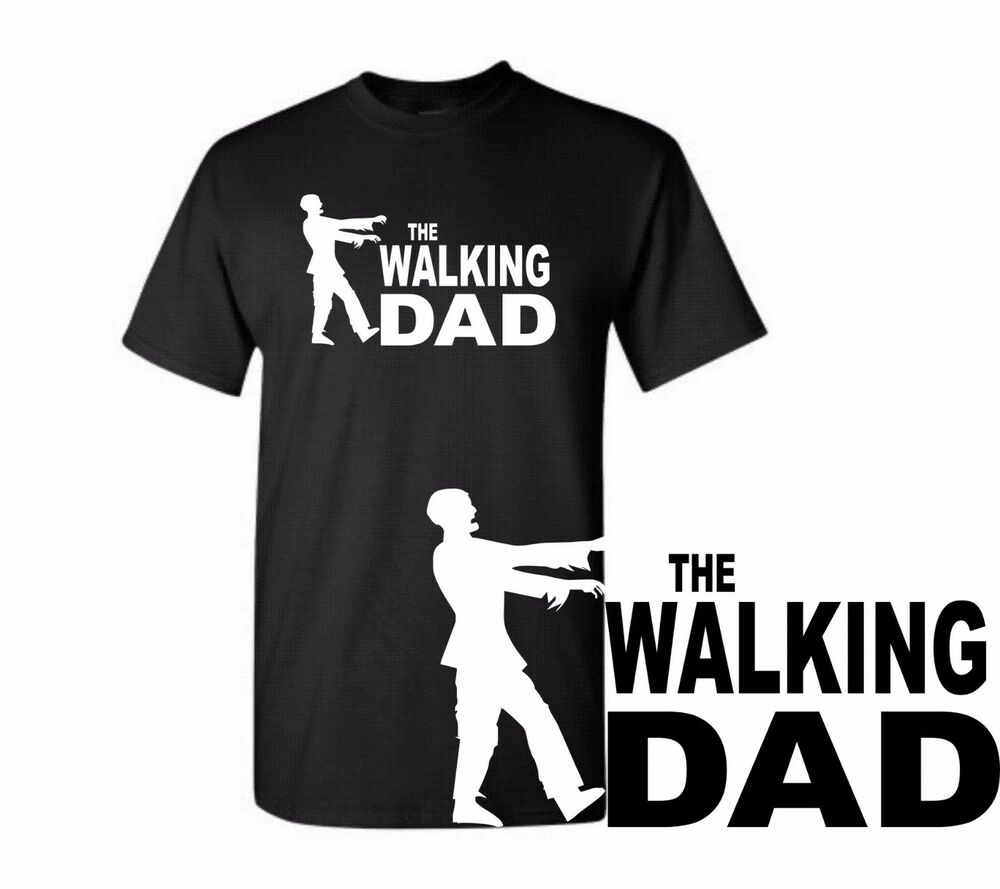 Dad t shirts the walking dad tee gift t shirt father day T shirts for dad