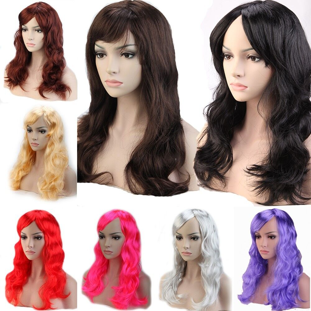 Us Cheap Wholesale Party Wig Colorful Synthetic Hair