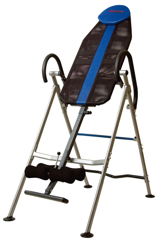 Innova therapy inversion table hang chair gravity inverted for 1201 back therapy inversion table