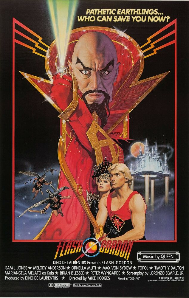 Flash Gordon Movie Poster (1980) | eBay