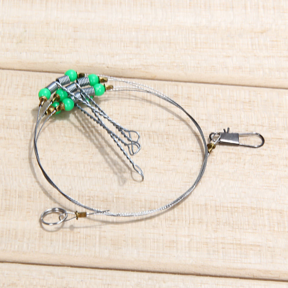 rigs for sea wall fishing wire