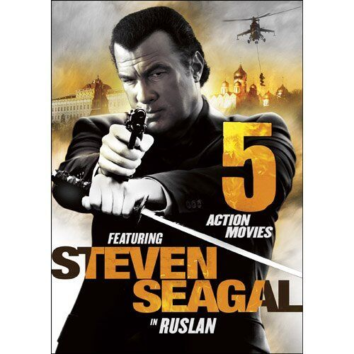 NEW 5 Action Movies Featuring Steven Seagal in Ruslan (DVD ...