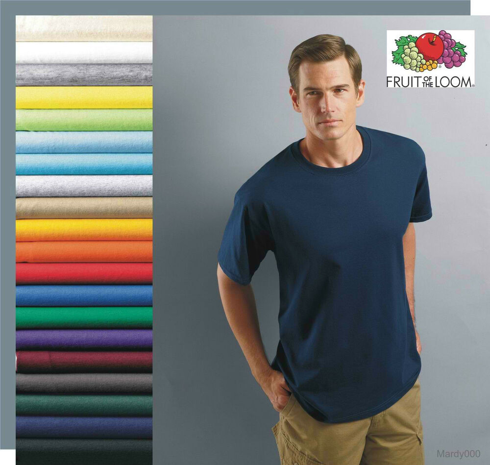 50 T Shirts Blank Bulk Lot Colors Or White Plain S Xl