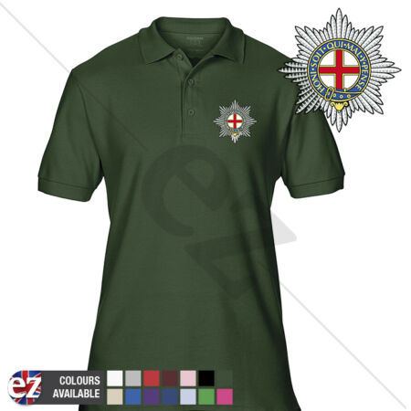 img-INFANTRY (Coldstream Guards-COLDM) - Army Polo Shirt - Optional Veteran Badge