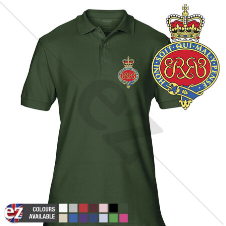 img-INFANTRY (Grenadier Guards Cypher) - Army Polo Shirt - Optional Veteran Badge