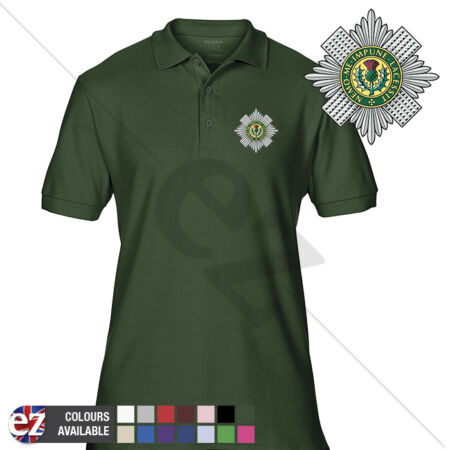 img-INFANTRY (SG) - Army Polo Shirt - Optional Veteran Badge