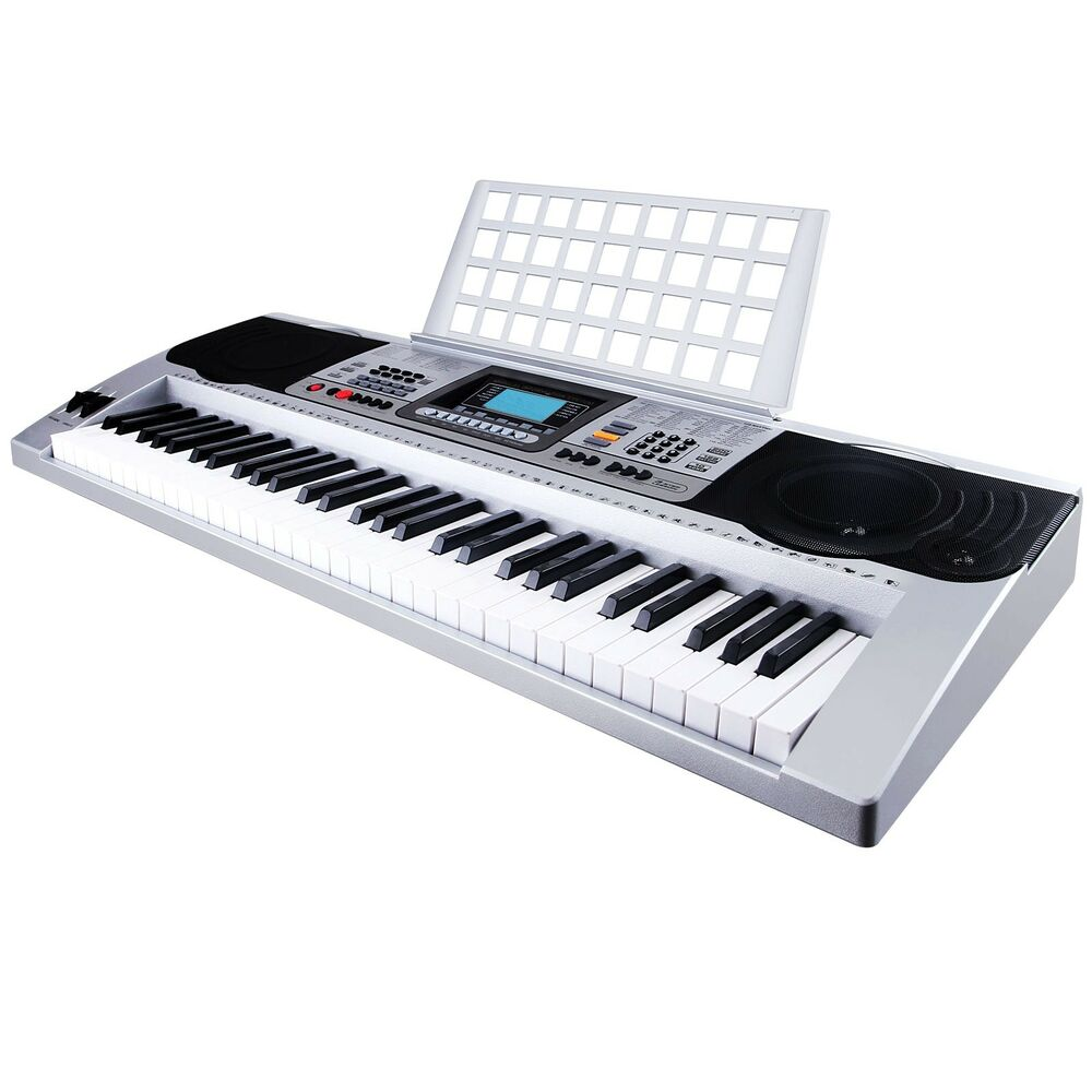 61 key music digital electronic keyboard electric piano organ touch sensitive ebay. Black Bedroom Furniture Sets. Home Design Ideas