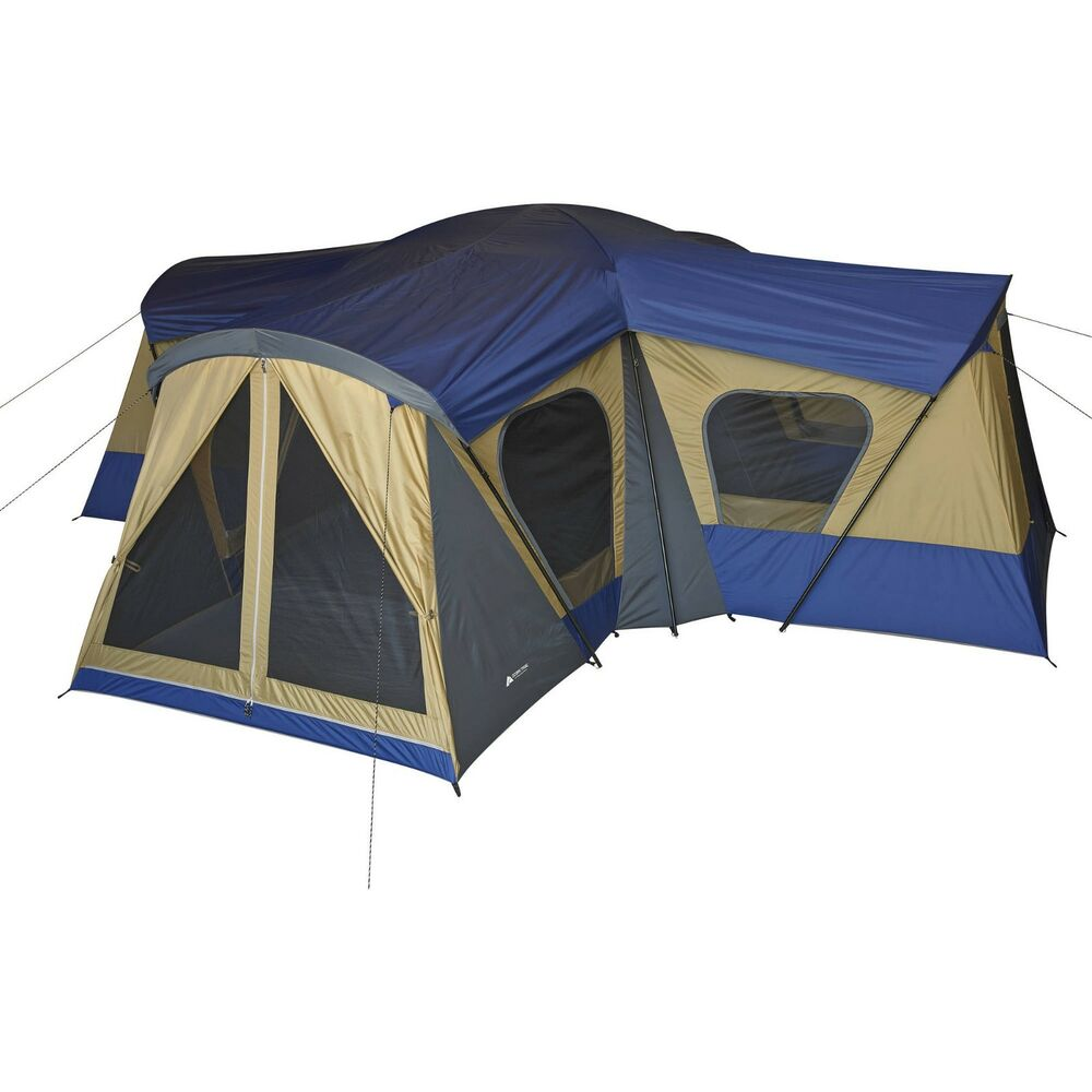 New Ozark Trail Base Camp 14 Person Cabin Tent 4 Rooms 20