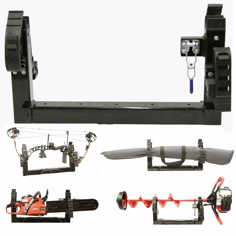 3 In 1 Atv Mount Holder For Compound Bow Gun Ice Auger