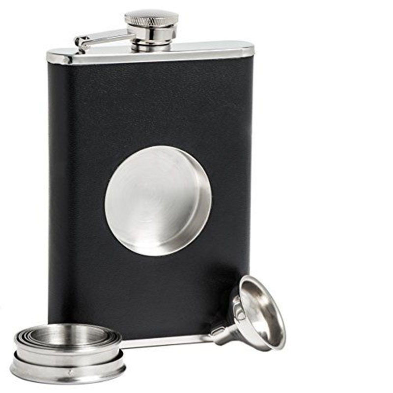 Alcohol Flask With Shot Glass